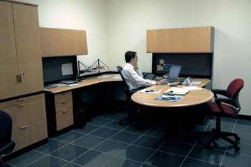 Sistemas modulares de oficina por ibo bonilla obra for Eliminar electricidad estatica oficina