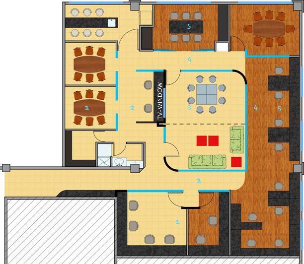 Arquitectura cu ntica arquiqubits arquitectura para el for Planos de oficinas administrativas
